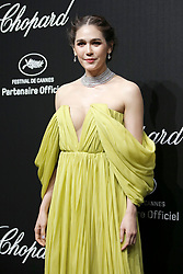 """""""Love"""" party Chopard in Cannes 2019.. Pictures: Laurent Guerin / EliotPress Set ID: 600943. 17 May 2019 Pictured: Araya Hargate. """"Love"""" party Chopard in Cannes 2019.. Pictures: Laurent Guerin / EliotPress Set ID: 600943. Photo credit: Eliot Press / ELIOTPRESS / MEGA TheMegaAgency.com +1 888 505 6342"""
