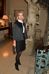 VISCOUNTESS LINLEY at an evenig of Jewellery & Photography to launch the Buccellati 'Opera Collection' held at Spencer House, London on 21st October 2015.