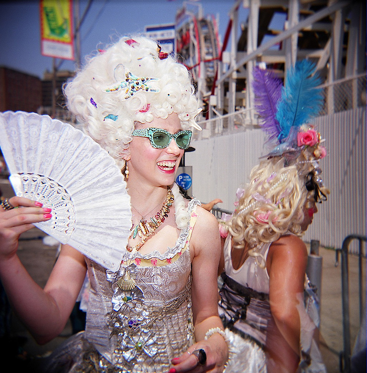 Marie Antoinettes, Mermaid Parade, Coney Island, Brooklyn, 2008
