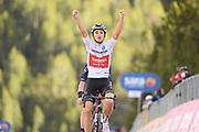 Foto Gian Mattia D'Alberto/LaPresse<br /> 22 ottobre 2020 Italia<br /> Sport Ciclismo<br /> Giro d'Italia 2020 - edizione 103 - Tappa 18 Pinzolo a Laghi di Cancano<br /> Nella foto: HINDLEY Jai TEAM SUNWEB vincitore di tappa<br /> <br /> Photo Gian Mattia D'Alberto/LaPresse<br /> October 22, 2020  Italy  <br /> Sport Cycling<br /> Giro d'Italia 2020 - 103th edition - Stage 18 Pinzolo  Laghi di Cancano<br /> In the pic: HINDLEY Jai TEAM SUNWEB winner of the stage