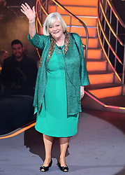 Ann Widdecombe is evicted during the Celebrity Big Brother Final, held at Elstree Studios in Borehamwood, Hertfordshire.