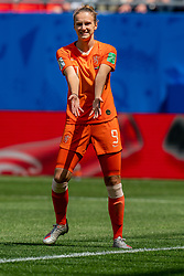 15-06-2019 FRA: Netherlands - Cameroon, Valenciennes<br /> FIFA Women's World Cup France group E match between Netherlands and Cameroon at Stade du Hainaut / Vivianne Miedema #9 of the Netherlands