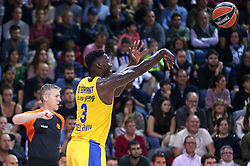November 1, 2018 - Barcelona, Catalonia, Spain - Johnny O'Bryant III during the match between FC Barcelona and Maccabi Tel Aviv, corresponding to the week 5 of the Euroleague, played at the Palau Blaugrana, on 01 November 2018, in Barcelona, Spain. (Credit Image: © Joan Valls/NurPhoto via ZUMA Press)