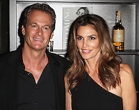 Rande Gerber, Cindy Crawford, Cindy Crawford  'Becoming' book & Casamigos Tequila - launch party, The Beaumont Hotel, London UK, 01 October 2015, Photo by Richard Goldschmidt