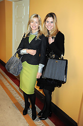 Left to right, LADY HELEN TAYLOR and VICTORIA GOODER at a fashion show and lunch in aid of  AMAR International Charitable Foundation held at The Dorchester, Park Lane, London W1 on 9th October 2008.