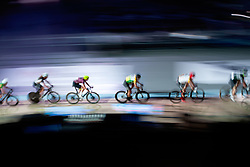 February 10, 2019 - Melbourne, VIC, U.S. - MELBOURNE, VIC - FEBRUARY 08: Sam Welsford of Australia in action during the 7.5km points race at The Six Day Cycling Series on February 08, 2019 at Melbourne Arena, VIC. (Photo by Speed Media/Icon Sportswire) (Credit Image: © Speed Media/Icon SMI via ZUMA Press)