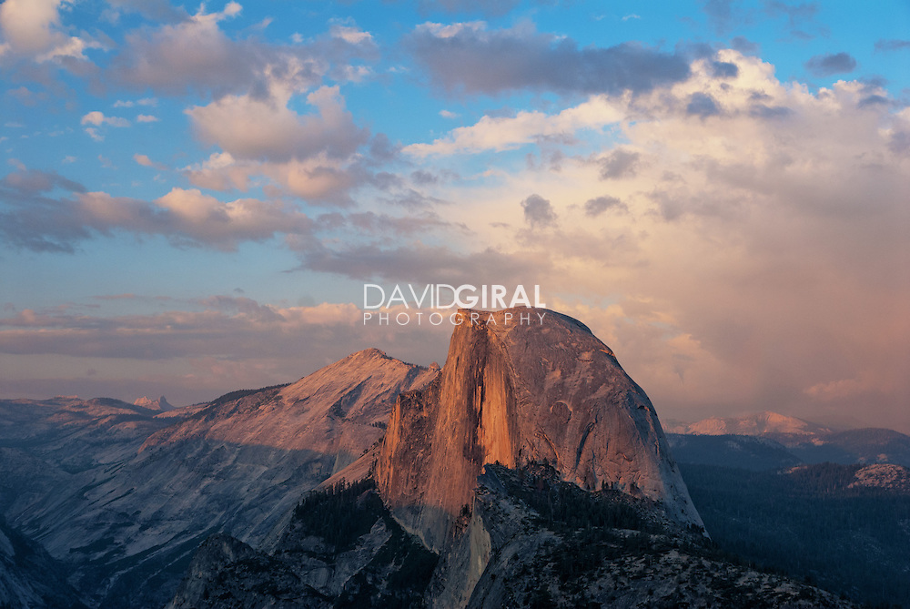 Half-Dome Sunset at Yosemite National park, California