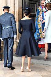 Meghan, Duchess of Sussex during the RAF Centenary at Westminster Abbey, London. Photo credit should read: Doug Peters/EMPICS