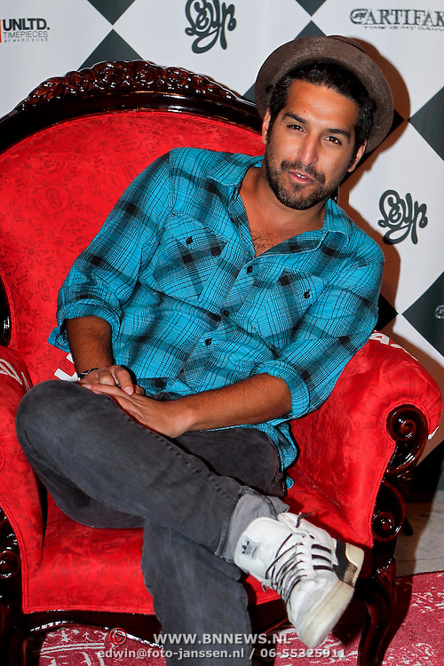 NLD/Amsterdam/20111007 - Presentatie Marc Ecko watches, DJ Amir Charles