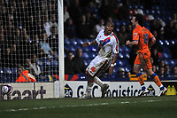 Photo: Tony Oudot/Richard Lane Photography. Crystal Palace v Reading. Coca-Cola Football League Championship. 21/03/2009. <br /> Neil Danns scores for Palace but the goal is disallowed