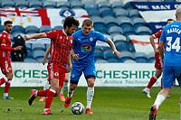 Will Collar. Stockport County FC 0-0 Bromley FC. Vanarama National League. Edgeley Park. 5.4.21