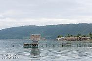 Village de Bonebaru, Iles Banggai, Indonésie