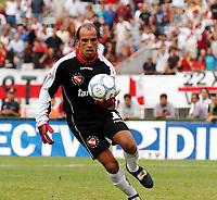 Fotball<br /> Torneo Clausura<br /> River Plate v Independiente<br /> 7. mars 2004<br /> Buenos Aires - Argentina<br /> Foto: Digitalsport<br /> Norway Only<br /> <br /> Colombian GoalKeeper NAVARRO MONTOYA.
