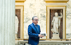 26.01.2017, Historischer Sitzungssaal, Wien, AUT, Parlament, 18. Bundesversammlung zur Angelobung des neuen Bundespräsidenten Van der Bellen, im Bild Arbeiterkammer Präsident Rudolf Kaske // during inauguration ceremony for the new federal president of austria at austrian parliament in Vienna, Austria on 2017/01/26, EXPA Pictures © 2017, PhotoCredit: EXPA/ Michael Gruber
