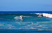 Surfing, Makaha Beach, Leeward, Oahu, Hawaii
