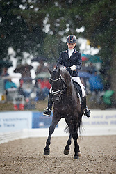 Bruntink Vai, (NED), Ebony 98<br /> First Qualifier 6 years old horses<br /> World Championship Young Dressage Horses - Verden 2015<br /> © Hippo Foto - Dirk Caremans<br /> 07/08/15