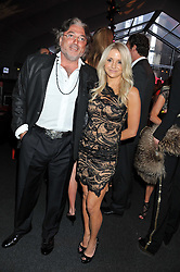 ROBERT TCHENGUIZ and CHRISTINE GIBSON at the inaugural Gabrielle's Gala in London in aid of Gabrielle's Angel Foundation for Cancer Research held at Battersea Power Station, London on 7th June 2012.