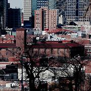Downtown Kansas City MO from Hospital Hill area.
