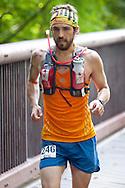 Rosendale, New York -  Runners compete in the Shawangunk Ridge Trail Run/Hike 20-mile race  on Sept. 20, 2014.