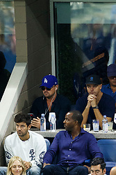 New York N.Y.  actor Leonardo Di Caprio during Day 12 of the 2017 US  Open at the Billie Jean King Tennis Center on Sept. 6th, 2017 (Photo by Chaz Niell )