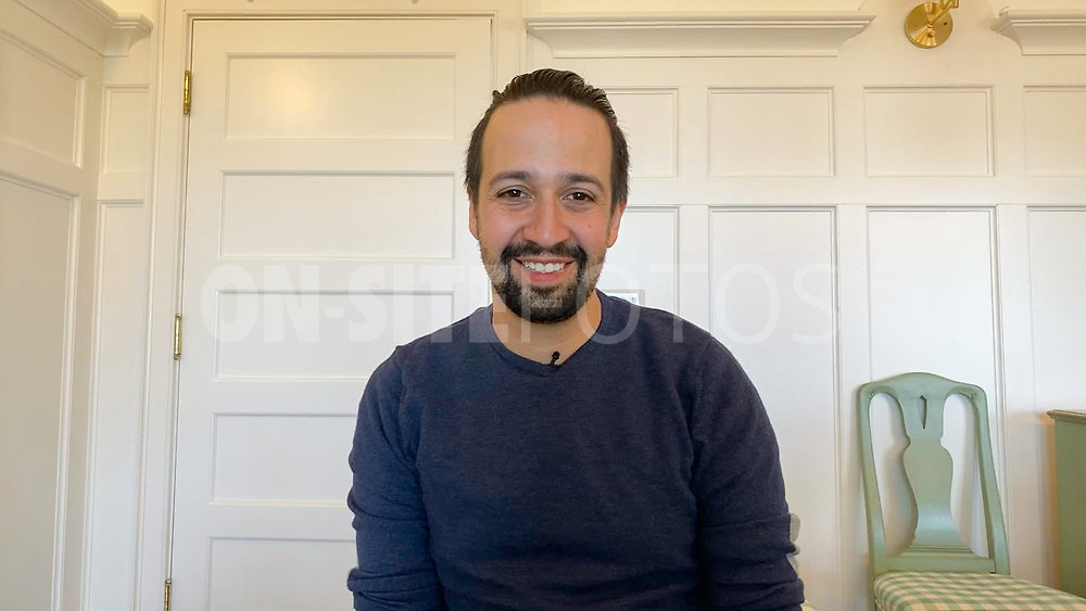 ROLL UP YOUR SLEEVES: PRESENTED BY WALGREENS -- Roll Up Your Sleeves: Presented by Walgreens -- Pictured in this screengrab: Lin-Manuel Miranda -- (Photo by: NBC)