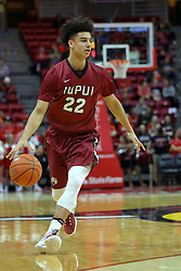 26 November 2016:  D.J.McCall during an NCAA  mens basketball game between the IUPUI Jaguars the Illinois State Redbirds in a non-conference game at Redbird Arena, Normal IL