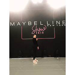 """Cheyenne Ochsenknecht releases a photo on Instagram with the following caption: """"Cant believe im walking tomorrow with @adrianalima \ud83d\ude40!!! Lets do this @maybelline, @maybelline_magazinde !!\ud83d\udca5#dreamsdcometrue"""". Photo Credit: Instagram *** No USA Distribution *** For Editorial Use Only *** Not to be Published in Books or Photo Books ***  Please note: Fees charged by the agency are for the agency's services only, and do not, nor are they intended to, convey to the user any ownership of Copyright or License in the material. The agency does not claim any ownership including but not limited to Copyright or License in the attached material. By publishing this material you expressly agree to indemnify and to hold the agency and its directors, shareholders and employees harmless from any loss, claims, damages, demands, expenses (including legal fees), or any causes of action or allegation against the agency arising out of or connected in any way with publication of the material."""