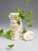 Champignon en peterselie - Mushroom and parsley