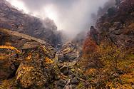 Waterfall in Balkan Mountains