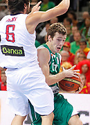 DESCRIZIONE : Kaunas Lithuania Lituania Eurobasket Men 2011 Quarter Final Round Spagna Slovenia Spain Slovenia<br /> GIOCATORE : Goran Dragic<br /> CATEGORIA : palleggio penetrazione<br /> SQUADRA : Slovenia<br /> EVENTO : Eurobasket Men 2011<br /> GARA : Spagna Slovenia Spain Slovenia<br /> DATA : 14/09/2011<br /> SPORT : Pallacanestro <br /> AUTORE : Agenzia Ciamillo-Castoria/L.Kulbis<br /> Galleria : Eurobasket Men 2011<br /> Fotonotizia : Kaunas Lithuania Lituania Eurobasket Men 2011 Quarter Final Round Spagna Slovenia Spain Slovenia<br /> Predefinita :