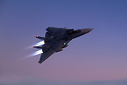 F-14A Tomcat afterburner