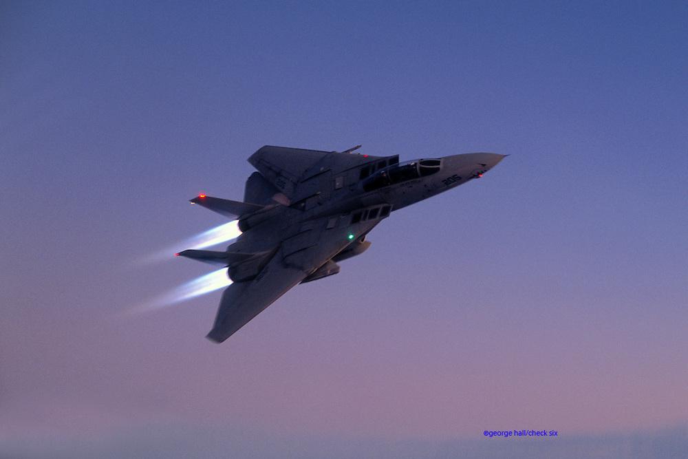 F-14A Tomcat afterburner