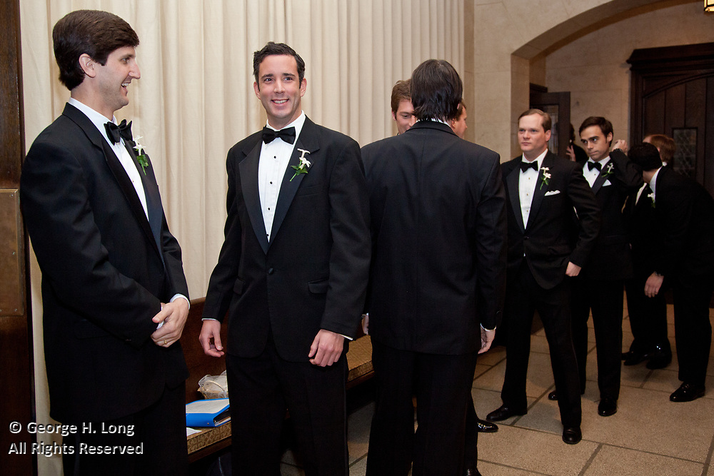 The wedding and reception of Mary Barnwell and John Steen on February 27, 2010