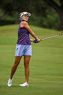 Lexi Thompson (USA) watches her approach shot on 1 during round 2 of the 2019 US Women's Open, Charleston Country Club, Charleston, South Carolina,  USA. 5/31/2019.<br /> Picture: Golffile | Ken Murray<br /> <br /> All photo usage must carry mandatory copyright credit (© Golffile | Ken Murray)