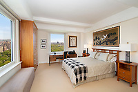 Bedroom at 160 Central Park South