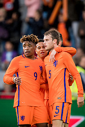 Steven Bergwijn of Jong Oranje 2-0 during the EURO U21 2017 qualifying match between Netherlands U21 and Latvia U21 at the Vijverberg stadium on October 06, 2017 in Doetinchem, The Netherlands