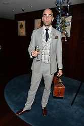 DRUMMOND MONEY-COUTTS at a dinner to celebrate the start of The Season held at Rivea, Bulgari Hotel, 171 Kightsbridge, London on 18th May 2016.