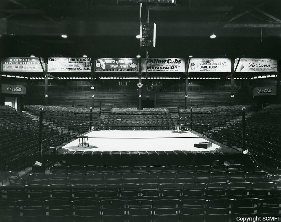 1936 Interior of Hollywood Legion Stadium