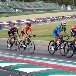 27-09-2020: wielrennen: WK weg mannen: Imola<br /> Antwan Tolhoek27-09-2020: wielrennen: WK weg mannen: Imola