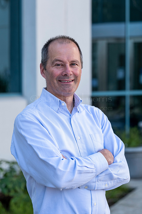 Tim Owens, head of Research at Principia Biopharma, stands for a photograph at the company's headquarters in South San Francisco, California, U.S., on March 5, 2021. Photograph by David Paul Morris