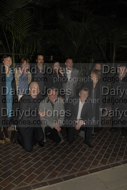 Cast inc. John Hillcoat,  Ray Winstone, John Hurt,  Nick Cave, Emily watson. The opening gala screening of 'The Proposition' as part of The London Australian Film Festival, Barbican Cinema, London. 2 March 2006. fONE TIME USE ONLY - DO NOT ARCHIVE  © Copyright Photograph by Dafydd Jones 66 Stockwell Park Rd. London SW9 0DA Tel 020 7733 0108 www.dafjones.com