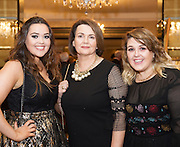 Andrea, Kathleen and Lisa Naughton Salthill at the Gorta Self Help Africa Annual Ball in Hotel Meyrick Galway City. Photo: Andrew Downes, XPOSURE.