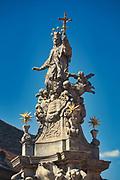 Figura św. Jan Nepomucena na wrocławskim Ostrowie Tumskim