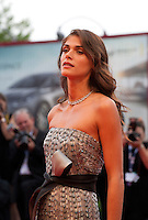 Actress and director Elisa Sednaoui at the gala screening for the film Everest and opening ceremony at the 72nd Venice Film Festival, Wednesday September 2nd 2015, Venice Lido, Italy.