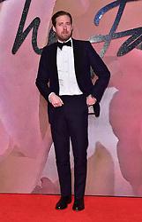 Ricky Wilson bei den Fashion Awards 2016 in der Royal Albert Hall in London / 051216<br /> <br /> ***Fashion Awards 2016 in London, Britain, Dec. 5th, 2016.***