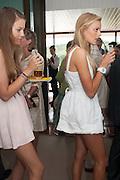 BETH CARNEGIE; ROSIE CRAMPIN;, Ladies Day, Glorious Goodwood. Goodwood. August 2, 2012