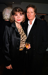 MR & MRS MATHEW MILLER she is Guinness heiress Ivana Lowell, at a party in London on 29th November 1999.MZN 30