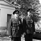 1961 - Garda passing out parade and Scott medal lists.
