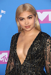 August 21, 2018 - New York City, New York, USA - 8/20/18.Hayley Kiyoko at the 2018 MTV Video Music Awards held at Radio City Music Hall in New York City..(NYC) (Credit Image: © Starmax/Newscom via ZUMA Press)