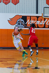27 December 2014:  UHigh Pinoeers v North Chicago Warhawks Girls AA  State Farm Holiday Classic Coed Basketball Tournament (Girls Class AA - Large Schools) at Normal Community High School, Normal IL Day 2
